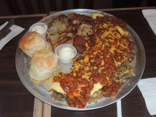 #446 Broken Yolk's Iron Man Omelet Challenge