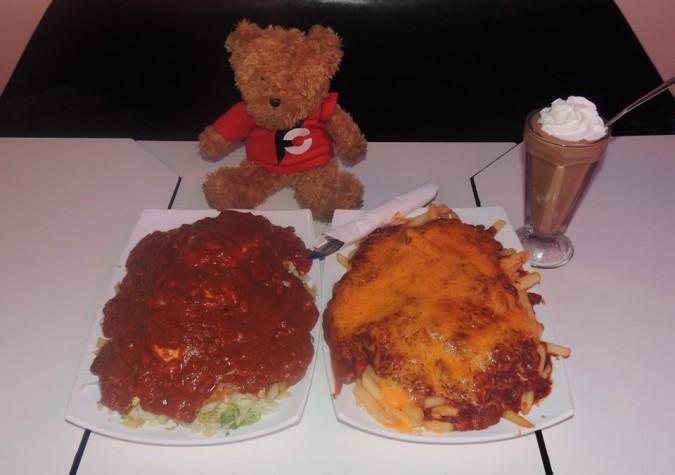 Rockies Diner's Man vs Food Challenge