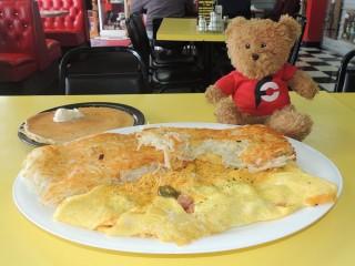 #466 No Frills Diner's King Omelet Challenge