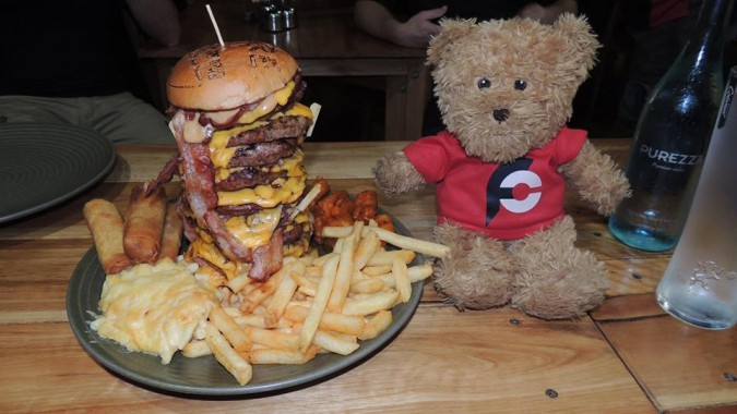 Bare Grill On Bourke's Burger Challenge