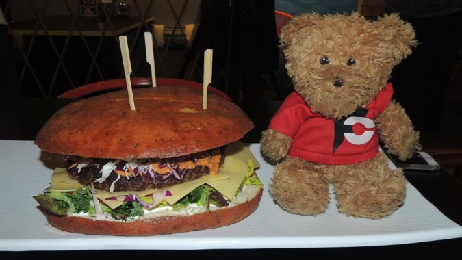 Karibbean Corner's Monster Burger Challenge
