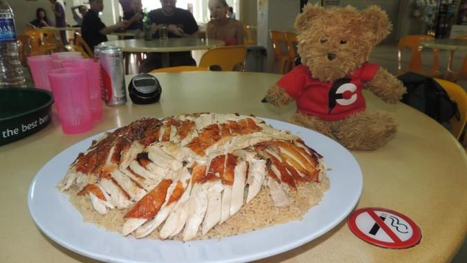 Xiang Ji's 3kg Chicken Rice Challenge