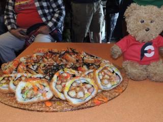 #537 Oriental Kitchen's 6lb Godzilla Roll Sushi Challenge