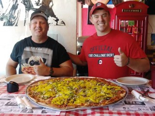 #550 Rico's Big Richie Pizza Challenge