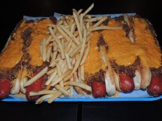 #555 Mascots' 5lb Hot Dog Challenge
