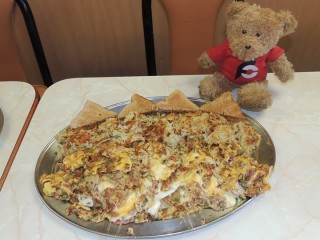 #556 Round Table's Mega Omelette Challenge