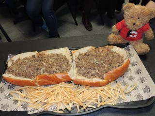 #559 Fred's Liberty Bell Cheesesteak Challenge