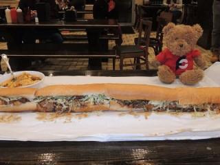 #561 Cajun Stop's Undertaker Sandwich Challenge