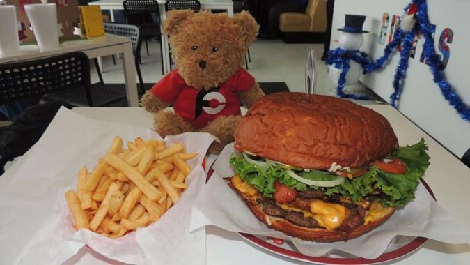 Busta's Big Burger Challenge
