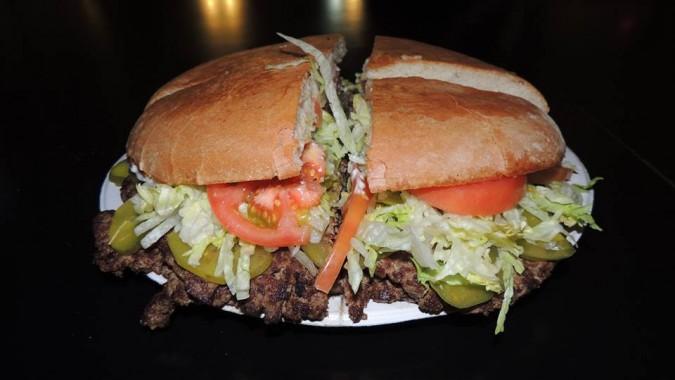Bobby J's Godzilla Burger Challenge