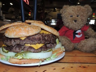 #566 Farley's 5lb Monster Burger Challenge