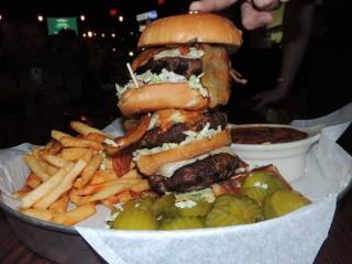 #570 Porkopolis' Brady Bacon Burger Challenge