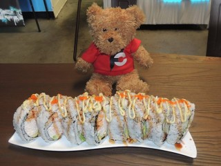 #572 Deli Sushi's Monster Roll Challenge