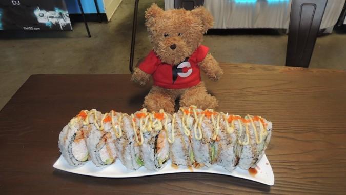Deli Sushi's Monster Roll Challenge
