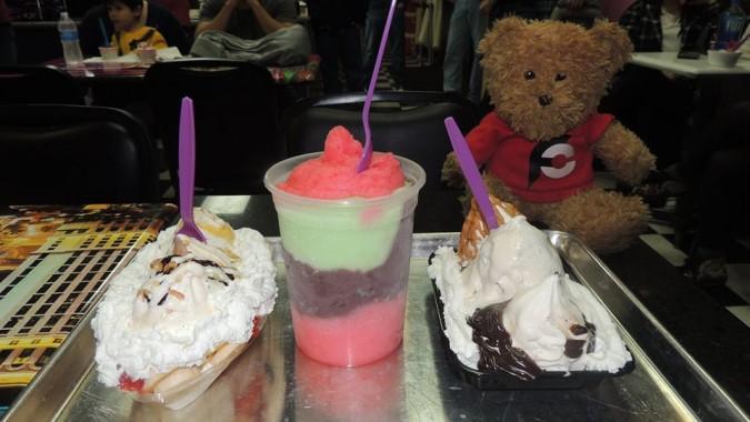 CJ's Italian Ice Monster Challenge