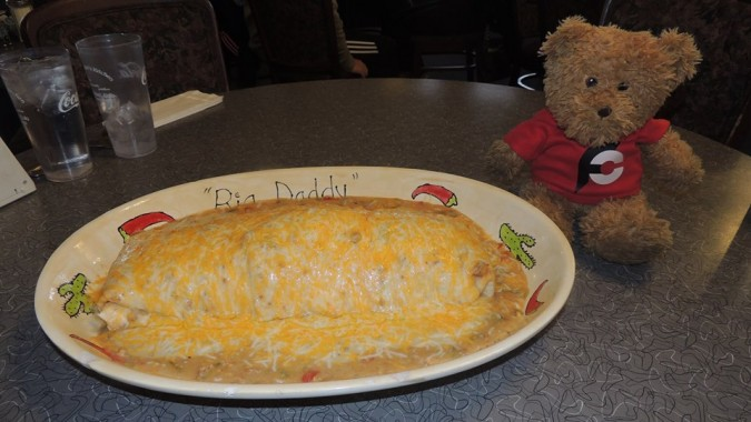 Aunt Alice's 96oz Breakfast Burrito Challenge