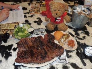 #583 The Big Texan 72oz Steak Challenge