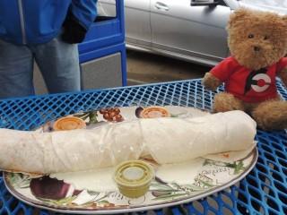 #587 Burrito King's King Burrito Challenge