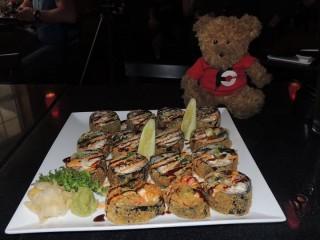 #596 Shinto's Godzilla Sushi Roll Challenge