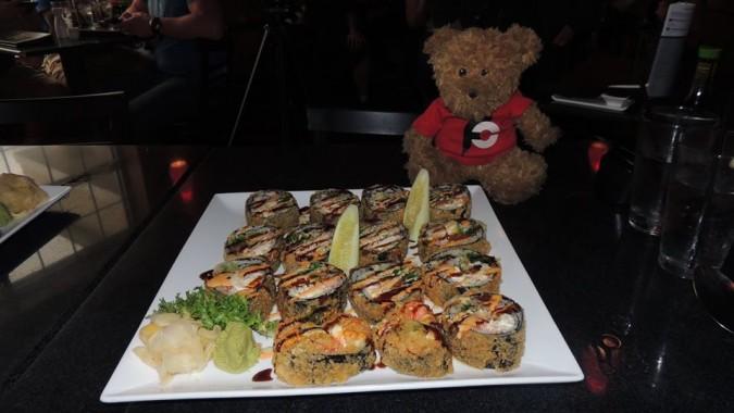 Shinto's Godzilla Sushi Roll Challenge