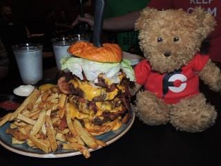 #599 Sidelines Bar Rebecca's Revenge Burger Challenge