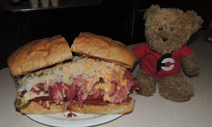 Jake's Deli Commish Sandwich Challenge