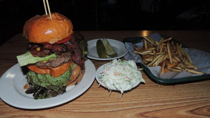 Tipsy McStaggers Tipsy Tower Burger Challenge