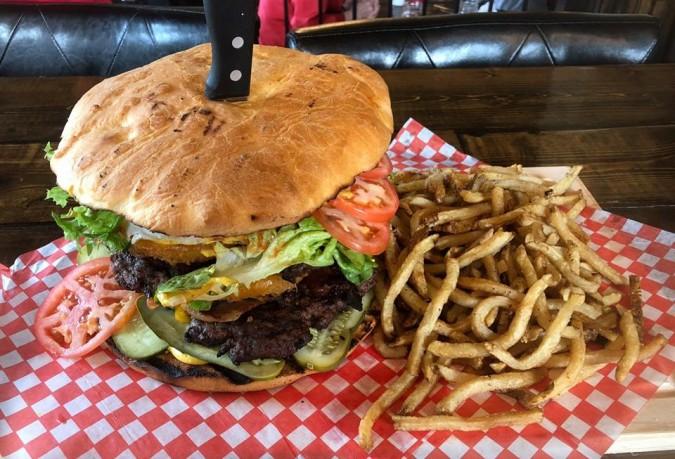 Bernard Stanley's BSG Burger Challenge
