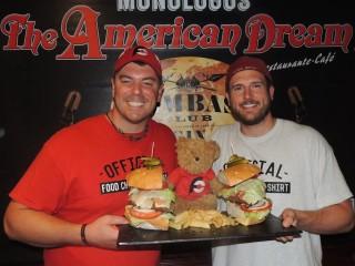 #631 American Dream Team Burger Challenge