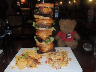 #632 Bourbon Steak House Burger Challenge