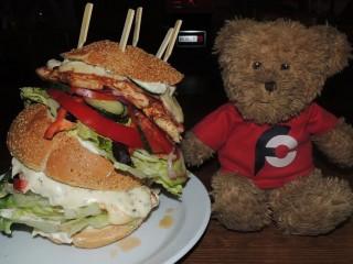 #653 Kovarna u Hodin Jumbo Chicken Burger Challenge