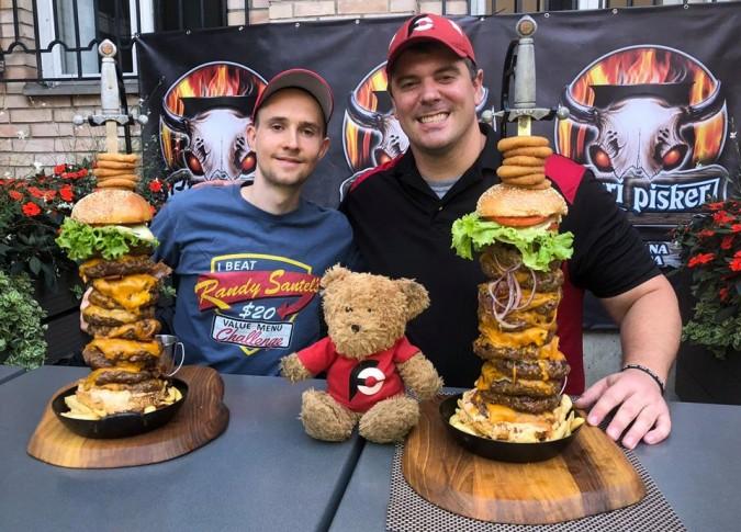 Stari Pisker Slovenia Fat Joe Burger Challenge