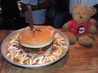 #658 Claw BBQ 5lb Beast Burger Challenge Dubai