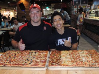 #668 Gourmet Pizza To Go 12lb Team Pizza Challenge