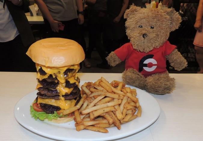 Zark's Tombstone Burger Challenge Philippines
