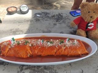 #689 Just Tacos 5lb El Diablo Burrito Challenge