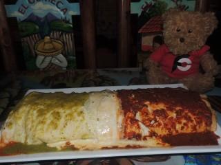 #700 El Olmeca Macho XXL Burrito Challenge