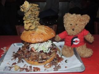 #705 Bone Lick BBQ's Sandwich Challenge
