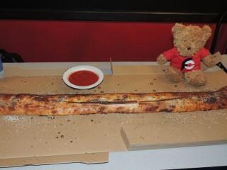 #710 Gotham City Pizza's Stromboli Challenge