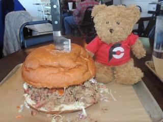 #711 Papa Buck's Pigzilla Sandwich Challenge