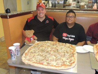 #716 Brooklyn Pizzeria's Brooklynator Pizza Challenge