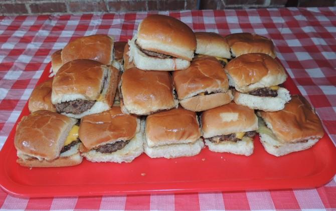 Slider's 24 Burger Sliders Challenge Springfield