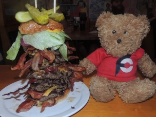 #730 Cannibal Cafe Canadian Beast Burger Challenge
