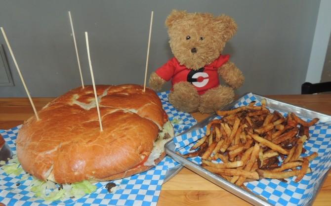 Kriner's Family Burger Challenge Anchorage Alaska