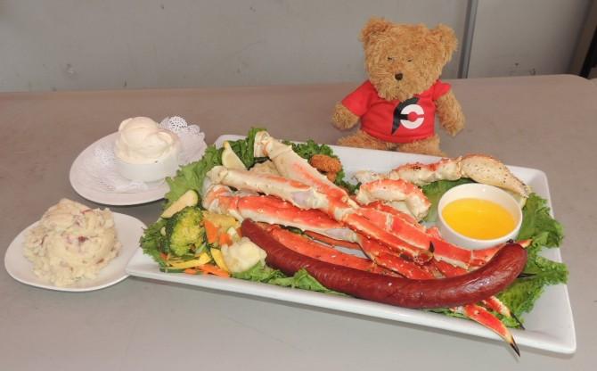 Humpy's Kodiak Arrest Crab Legs Challenge