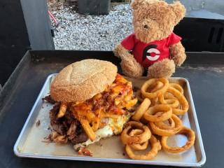 #755 3 Hogs BBQ's Fattest Hog Sandwich Challenge