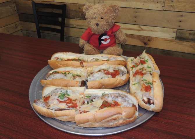 America's Pie's American Voyage Sandwich Challenge