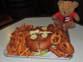 #759 Rattlesnake Saloon's Gigantor Burger Challenge