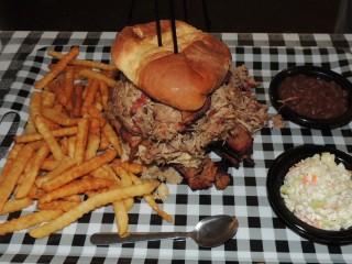 #760 Hub City Hat Trick BBQ Sandwich Challenge