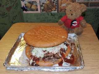 #761 Saucy Q's Big Pig Pulled Pork Sandwich Challenge